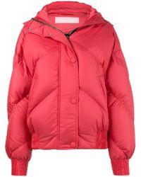 Ienki Ienki | Dunlop Cropped Hooded Puffer Jacket | Lyst