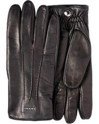 Prada - Logo Fitted Gloves - Lyst