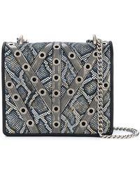 Just Cavalli | Snake Effect Shoulder Bag | Lyst