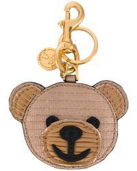 Moschino - Teddy Bear Key Ring - Lyst
