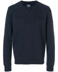 Woolrich - Embossed Logo Jumper - Lyst