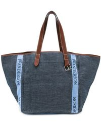 JW Anderson - Contrast Handle Shopper Bag - Lyst