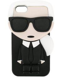 Karl Lagerfeld - 3d Karl Ikonik Iphone Case - Lyst
