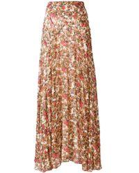 Isabel Marant | Ferone Floral Print Skirt | Lyst