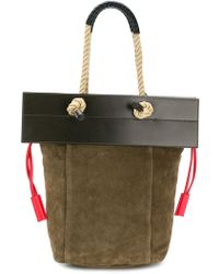 Ports 1961 - Rope Handle Flap Tote Bag - Lyst