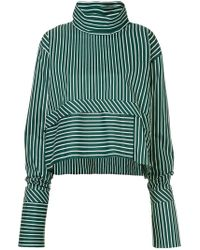 7b051bd97af2a ANOUKI - Striped Oversized Blouse - Lyst