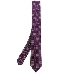 Etro | Dot Embroidered Tie | Lyst