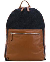 Eleventy - Contrast Pocket Backpack - Lyst