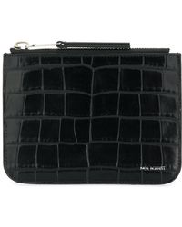 Neil Barrett - Snakeskin Embossed Coin Purse - Lyst
