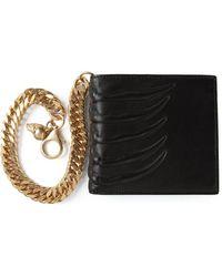 Alexander McQueen - Claw Embossed Wallet - Lyst
