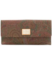Etro - Large Printed Purse - Lyst