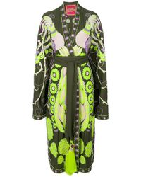 Yuliya Magdych - Firebird Embroidered Kimono Dress - Lyst