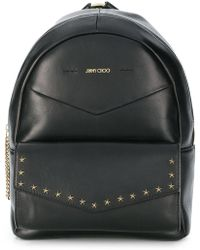Jimmy Choo - Cassier Leather Backpack - Lyst
