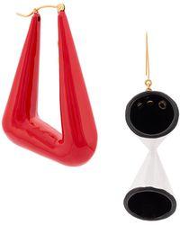 Stella McCartney - Abstract Shape Earrings - Lyst