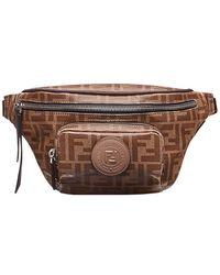 Fendi - Logo-print Belt Bag - Lyst