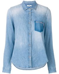 7 For All Mankind - Love Mankind Denim Shirt - Lyst