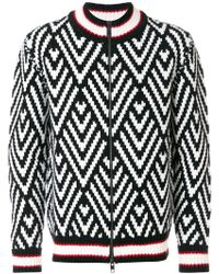Ermanno Scervino - Zip Front Sweater - Lyst