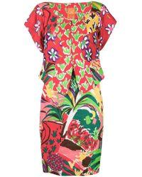 Christian Lacroix - Floral Skirt Suit - Lyst
