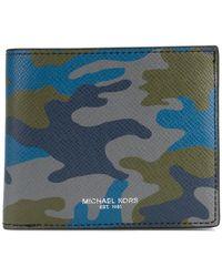 MICHAEL Michael Kors   Harrison Camouflage-print Bifold Wallet   Lyst