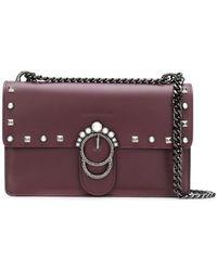 Marc Ellis - Foldover Top Embellished Shoulder Bag - Lyst