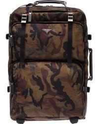 Prada - Valise camouflage - Lyst