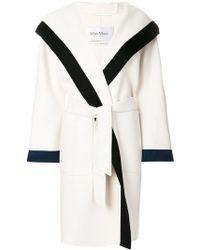 Max Mara - Belted Knit Coat - Lyst