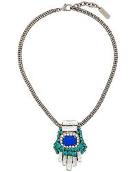 Rada' - Square Pendant Necklace - Lyst