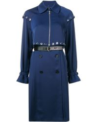 Karl Lagerfeld - Transformer Pleated Trench Coat - Lyst