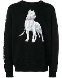 Marcelo Burlon - 'Dogo' Sweatshirt - Lyst