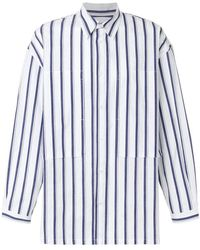 E. Tautz | Striped Lineman Shirt | Lyst