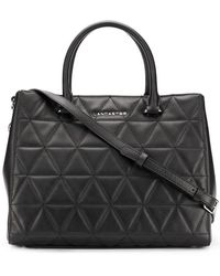 Lancaster - Embossed Quilt Tote Bag - Lyst