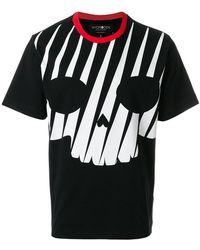 Hydrogen   Skull Print T-shirt   Lyst