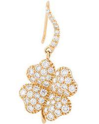Aurelie Bidermann - 'clover' Diamond Earring - Lyst