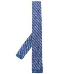 Al Duca d'Aosta - Striped Tie - Lyst