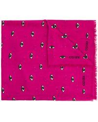 KENZO - Eye Print Scarf - Lyst