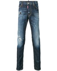 29ec9b0c68a On sale DSquared² - Twins Faded Jeans - Lyst