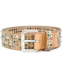 Htc Los Angeles - Studded Buckle Belt - Lyst