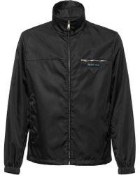 Prada - Nylon Gabardine Jacket - Lyst