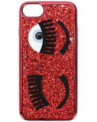 Chiara Ferragni - Blinking Eyes Iphone 6/7/8 Cover - Lyst