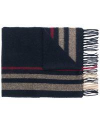 Woolrich - Striped Scarf - Lyst