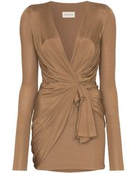 Alexandre Vauthier Wrap Mini Dress