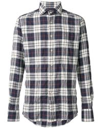 Glanshirt - Checked Button Shirt - Lyst