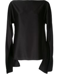 Christopher Esber - Cut-out Sleeve Blouse - Lyst