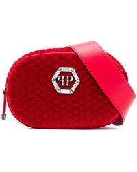 Philipp Plein - Logo Zipped Belt Bag - Lyst