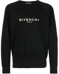 Givenchy - Blurred Logo Sweatshirt - Lyst