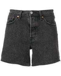 Levi's - Five Pocket Denim Shorts - Lyst