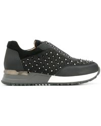 Gianni Renzi - Studded Low-top Sneakers - Lyst