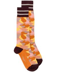 Marni - Camouflage Socks - Lyst