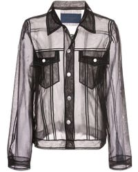 Viktor & Rolf - Sheer Shirt Jacket - Lyst
