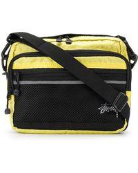 Stussy - Mesh Panelled Shoulder Bag - Lyst